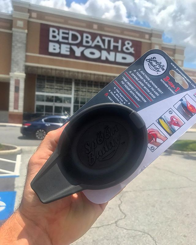 It's hump day! Anyone have plans to go to Bed Bath and Beyond this weekend? Grab a Spoon Buddy at any of the locations on our websites map tab!