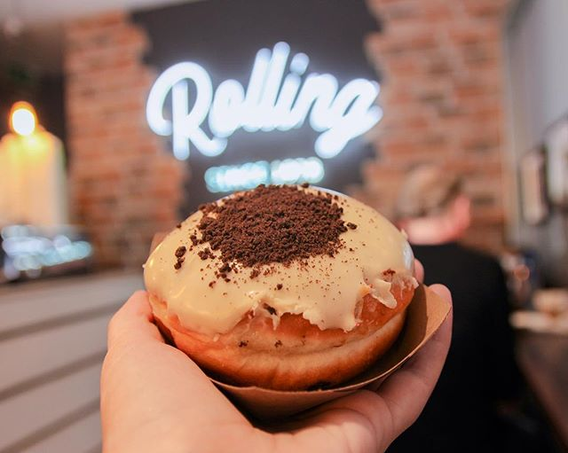 Take me back to Dublin for the Donuts. #dublin #ireland #therollingdonut #rollingdonut #donut #foodstagram #lightroom #imalifestylebloggernow