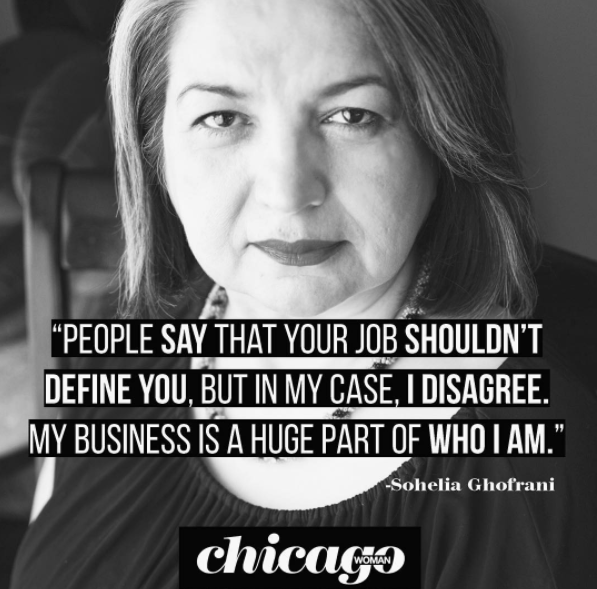 soheila chicagowomanmag quote.png