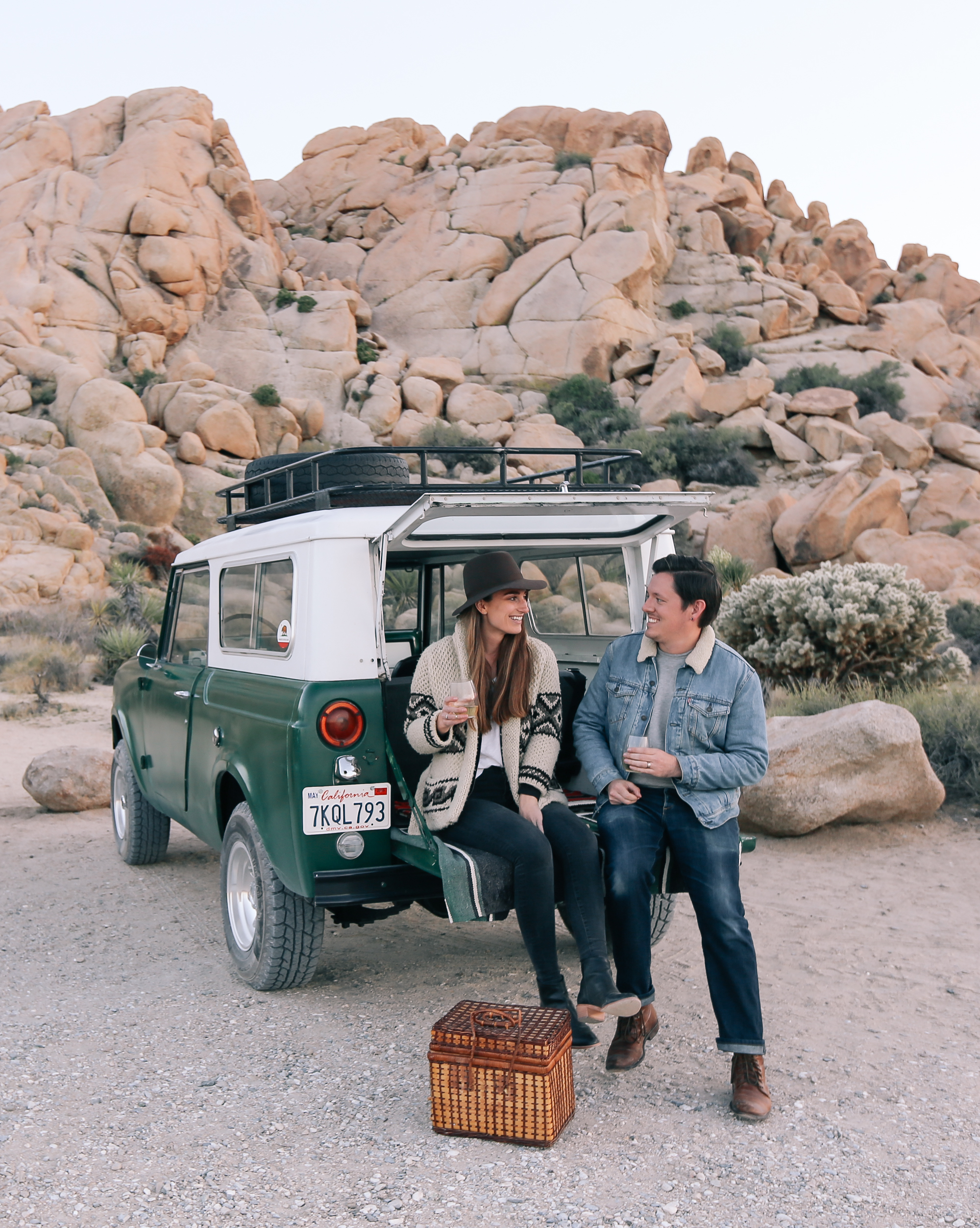 Picnic at Indian Cove in Joshua Tree National Park