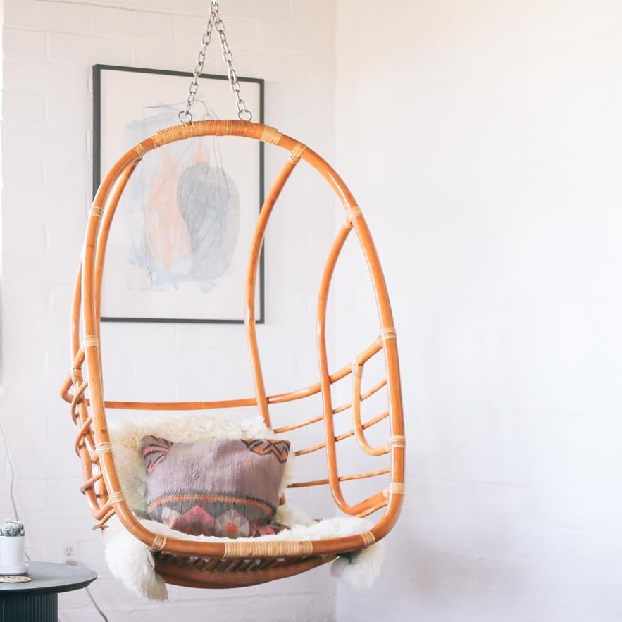 Rattan Hanging chairs //Mood Adventures