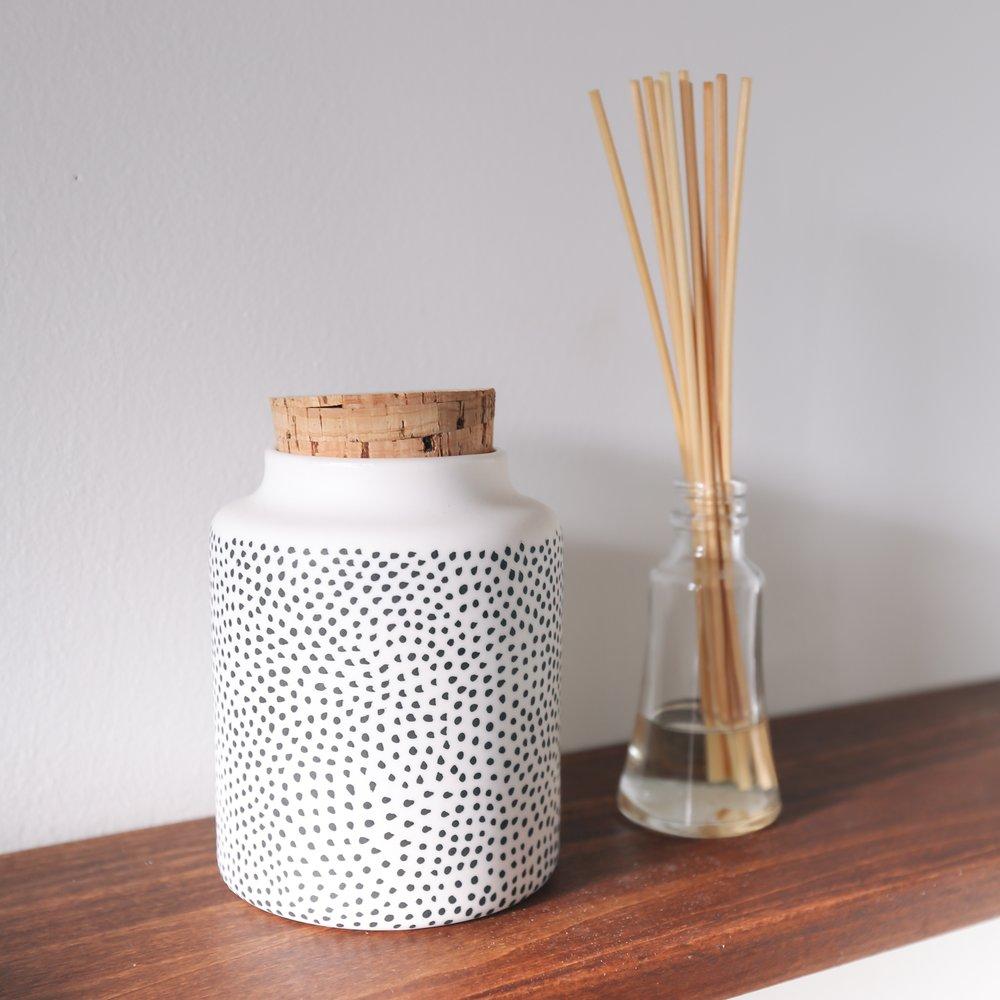 Spotted Seed Jar // The Granite
