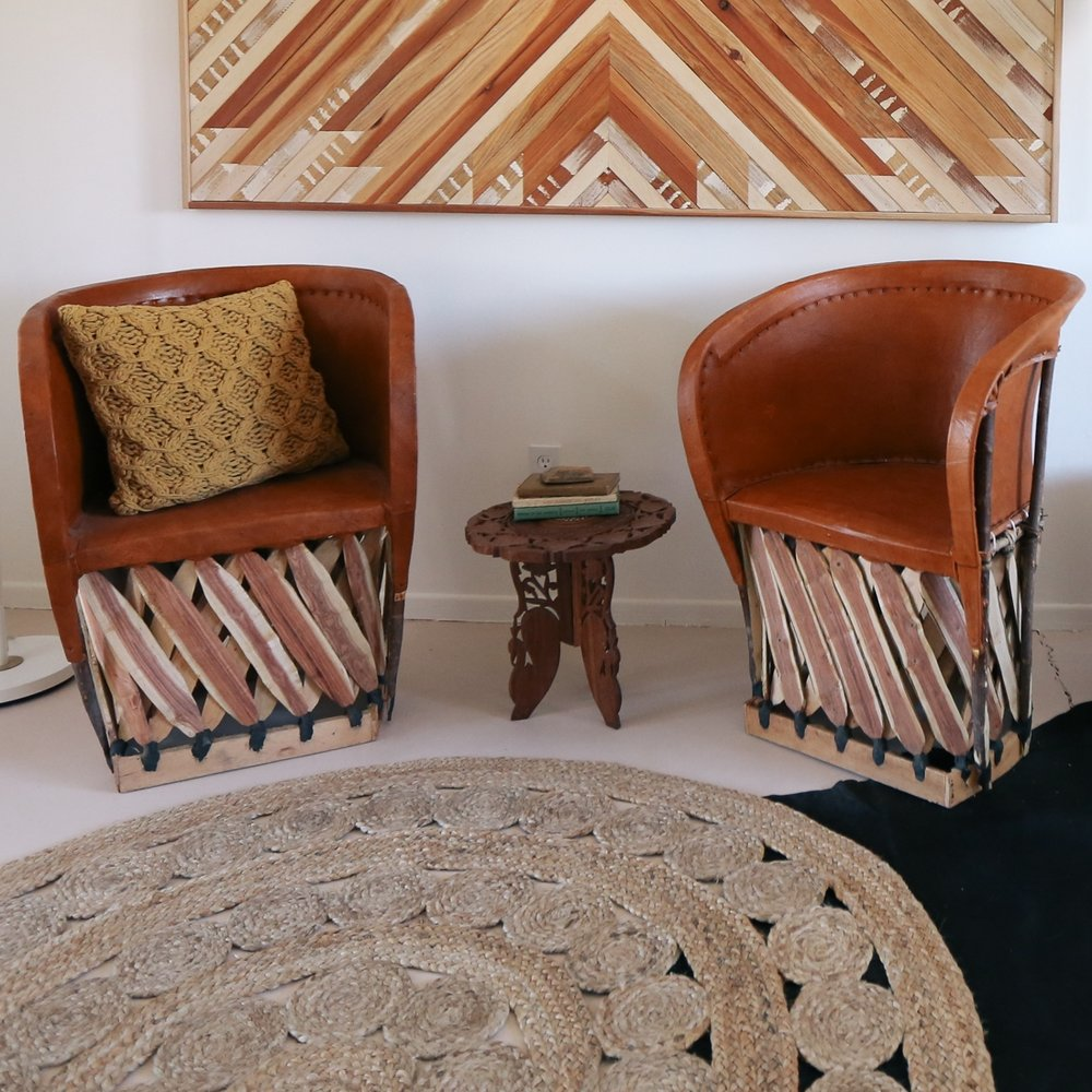 Round jute rug // Serena and Lily