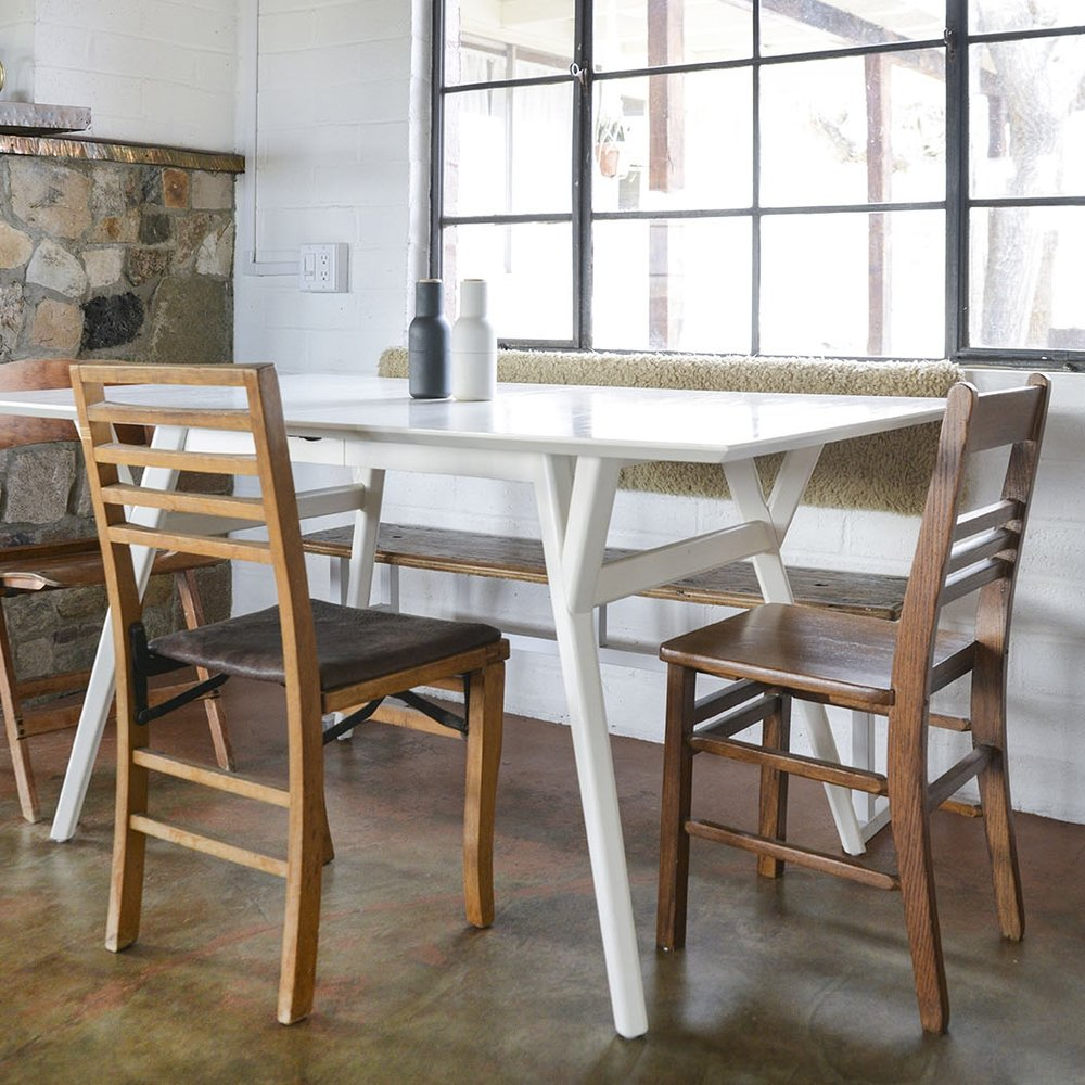 Dining table // West Elm
