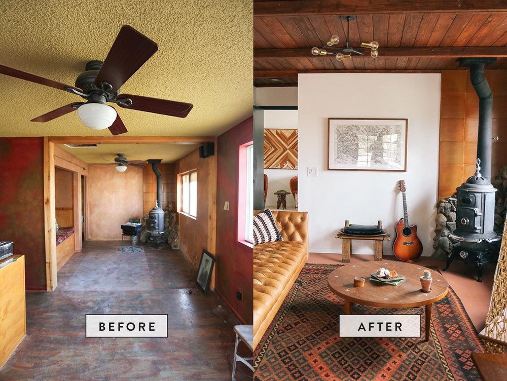 The Joshua Tree Casita Living Room