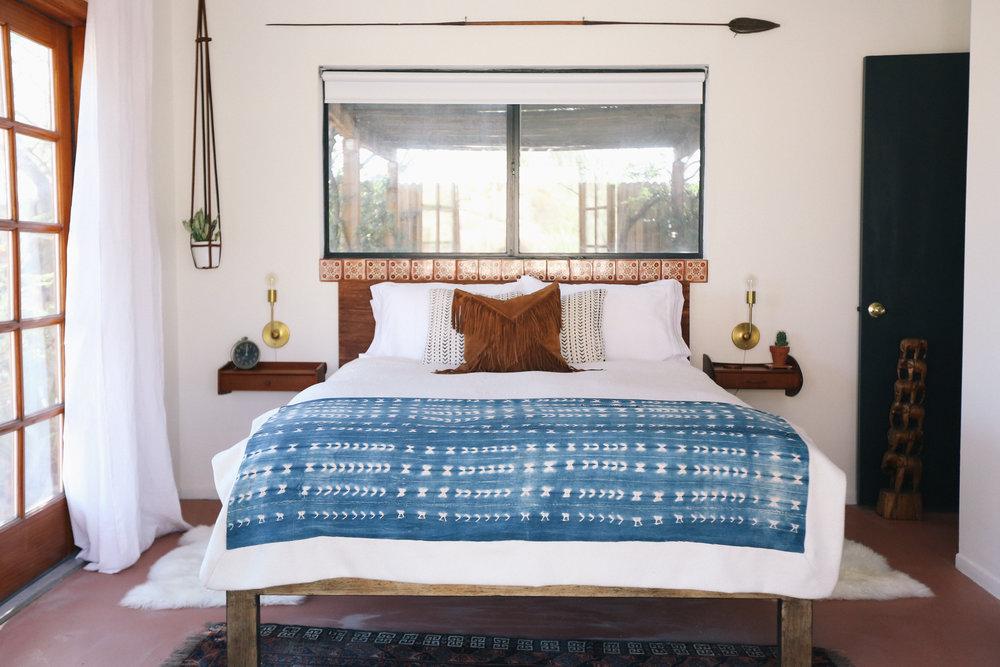 The Joshua Tree Casita Bedroom