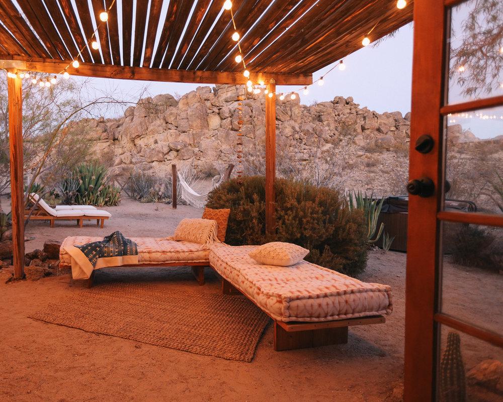 Casita Outdoor Living Space