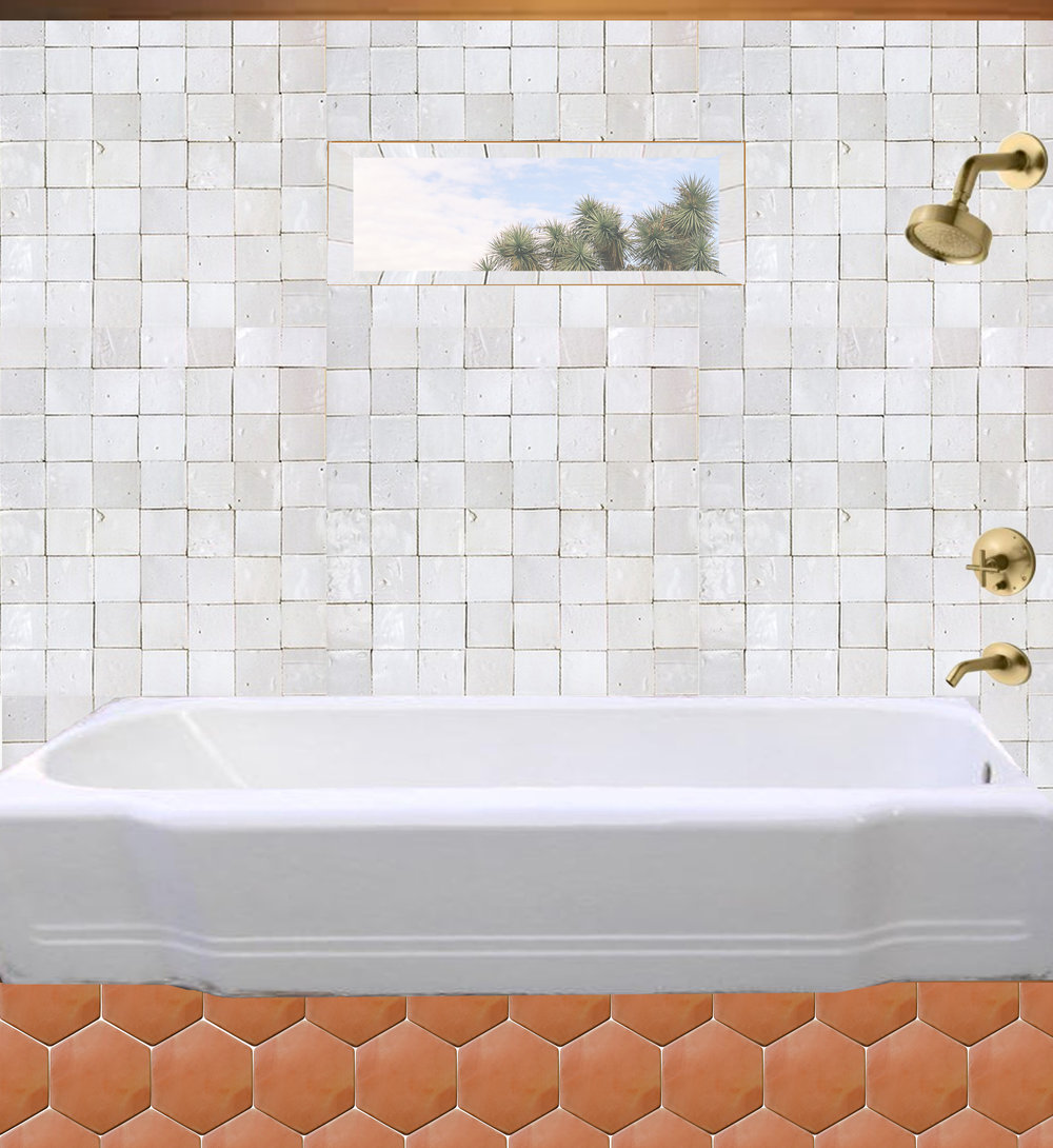 The Joshua Tree Hacienda Bathroom