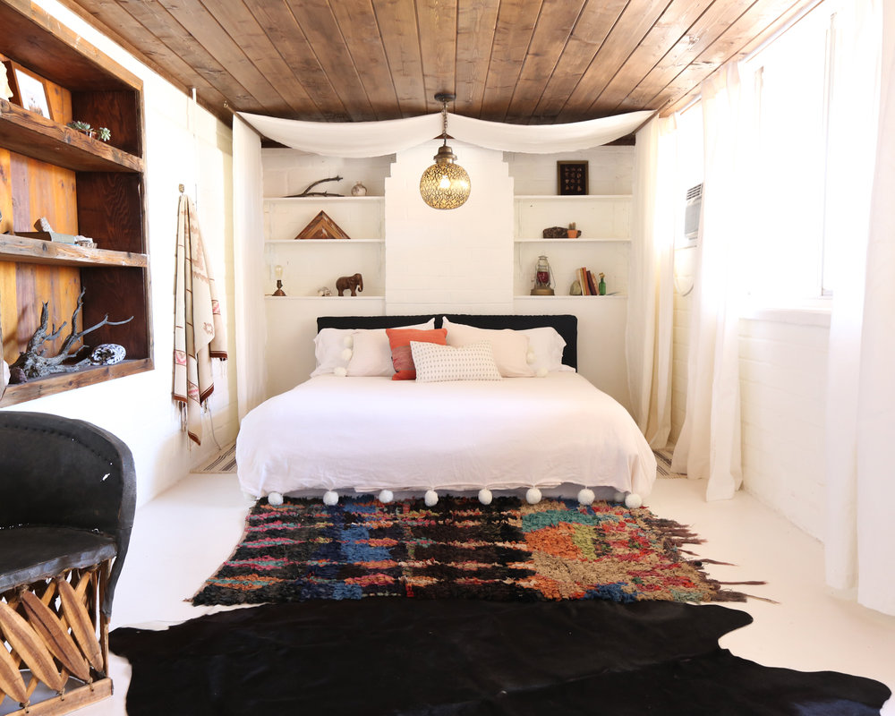 The Joshua Tree House Tent Room