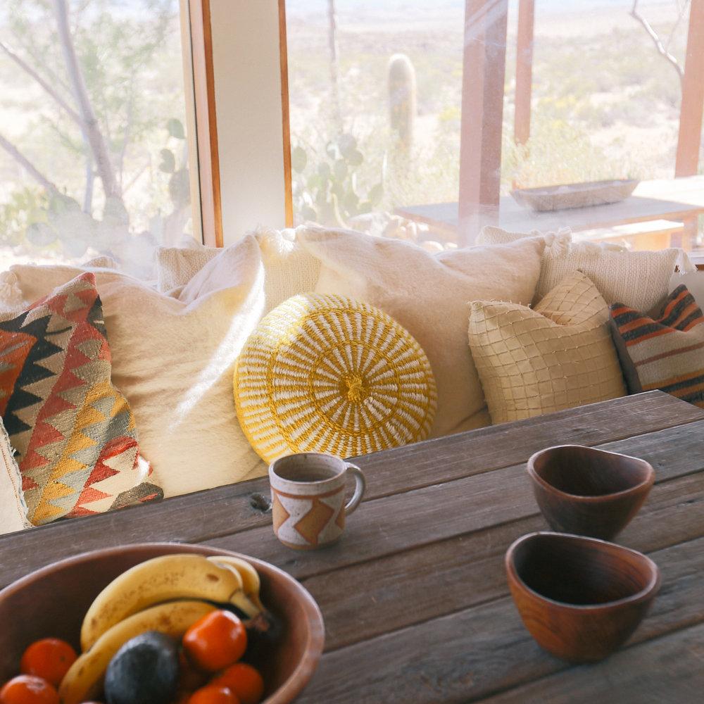 Round cushion // Pampa