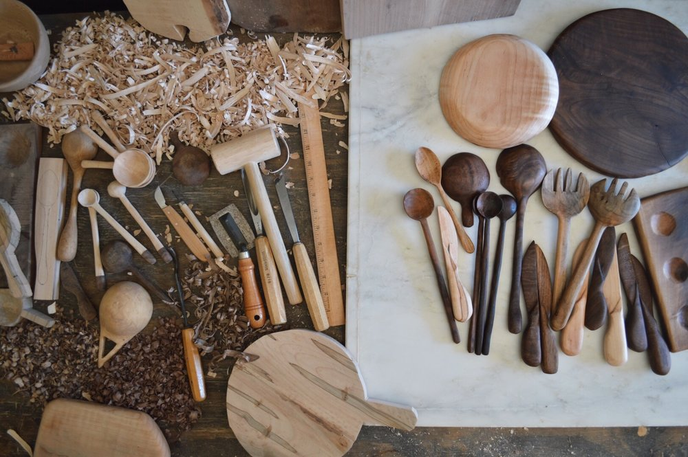 Celina is the author of The Wood Carver's Dozen. - She also teaches a variety of workshops in Austin, Texas. These intimate workshops provide a unique opportunity to learn the dos and donts from an experienced woodworker.