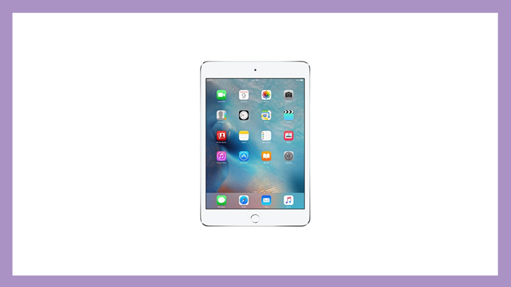 Do it all in one place with the iPad mini!