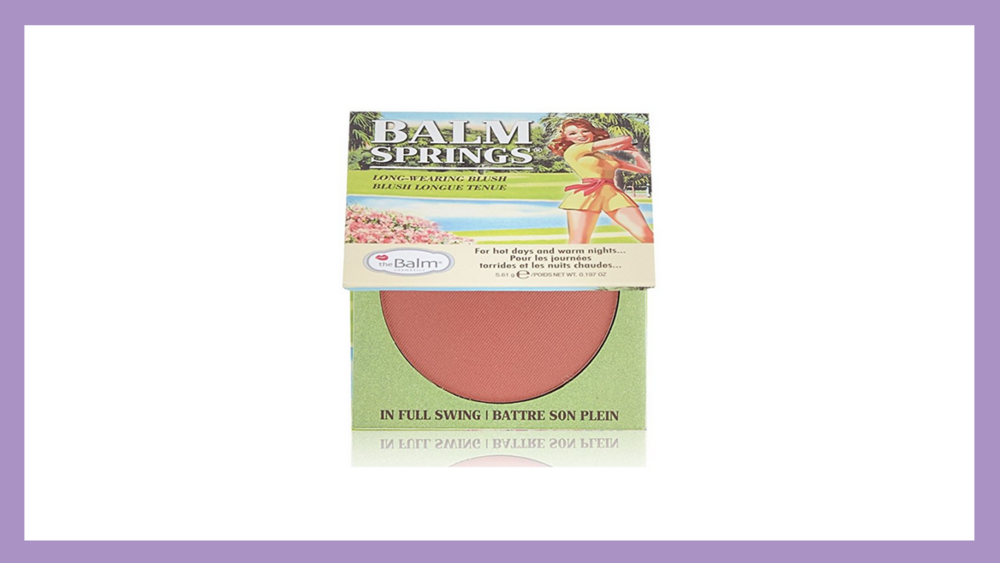 This blush has a beautiful, rosy color that compliments most complexions.