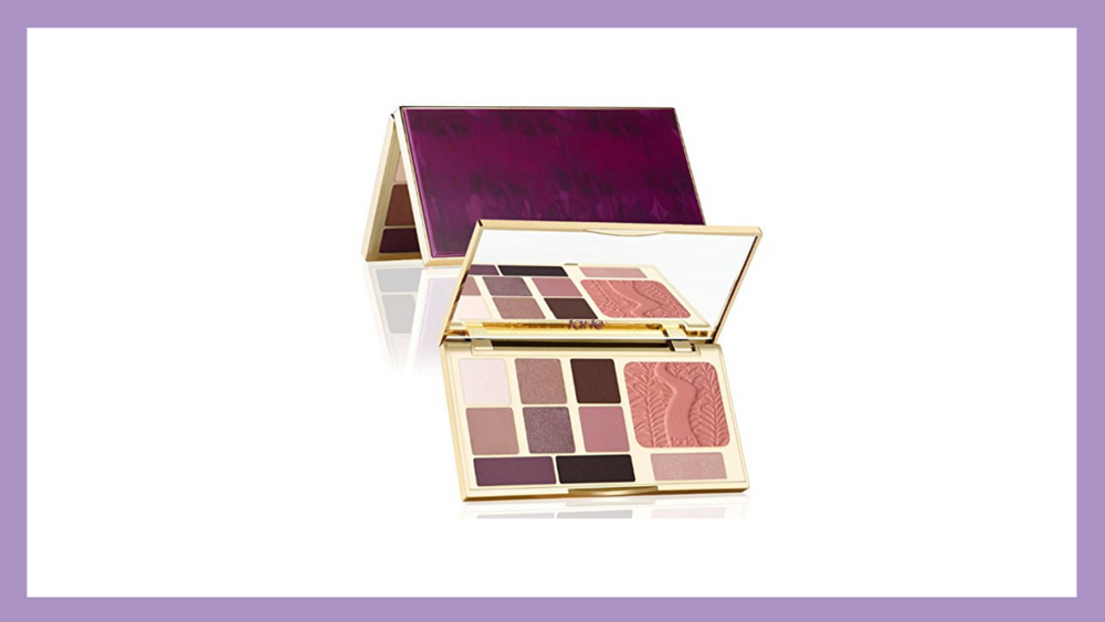 Tarte Limited Edition Energy Noir Palette: this collection has the best eye and cheek highlighter and blush.