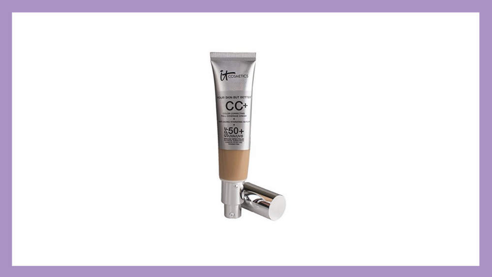 For perfect coverage and sun protection, this color correcting cream is the best!