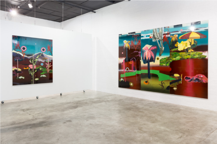 http://thisisnofantasy.com/exhibition/neil-haddon-new-works/