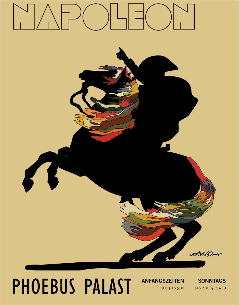 Napoleon Poster art from Tha God, Glaser