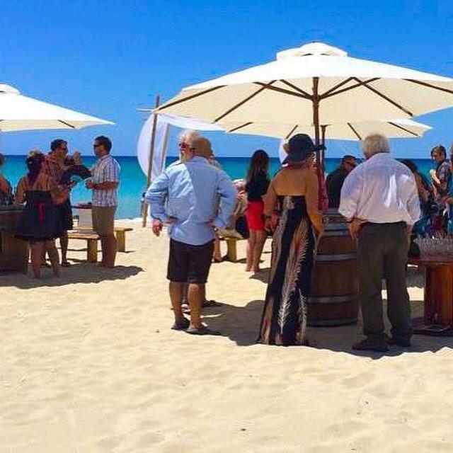 It's sunshine and weddings. #barrelsandbrellas #love #marryme #coasttocountryweddings #beachwedding