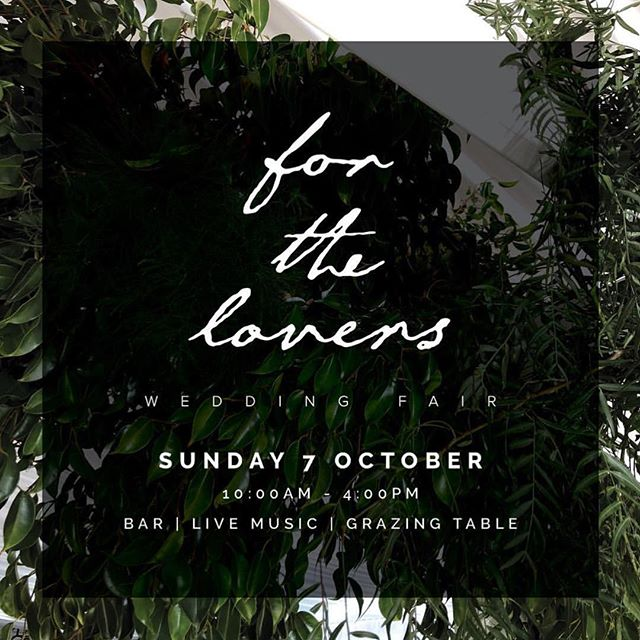 Unfortunately due to private reasons we will not be able to attend this years for the Lovers event! Please make sure you still go down and see the many amazing beautiful vendors on show. If you didn't already know this event is showcasing talented suppliers to nearly weds planning a south west wedding. The wedding fair is located at the beautiful @oldbroadwaterfarm 🍾
