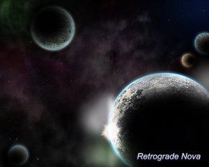 Space Plate for the Retrograde Nova Webcomic