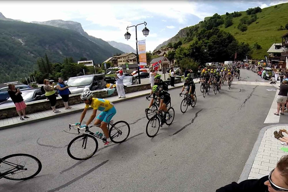 2018 TDF ALPS - from annecy to l'alpe d'Huez!