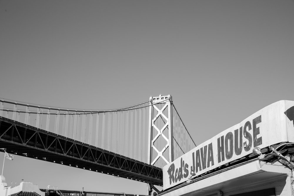 Red's Java House (B&W)