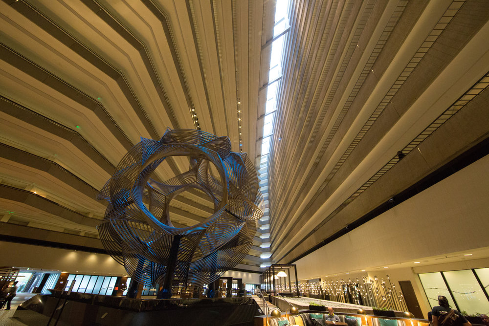 Grand Hyatt Interior (Ultra Wide Focal Length, Landscape Orientation)