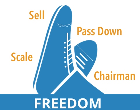 The Value Builder System - Sell-Scale-Pass-Down-Chairman