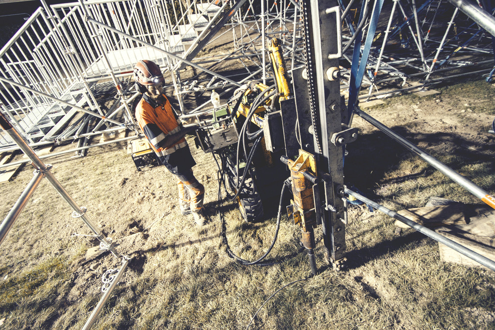 Ground Anchor Installation