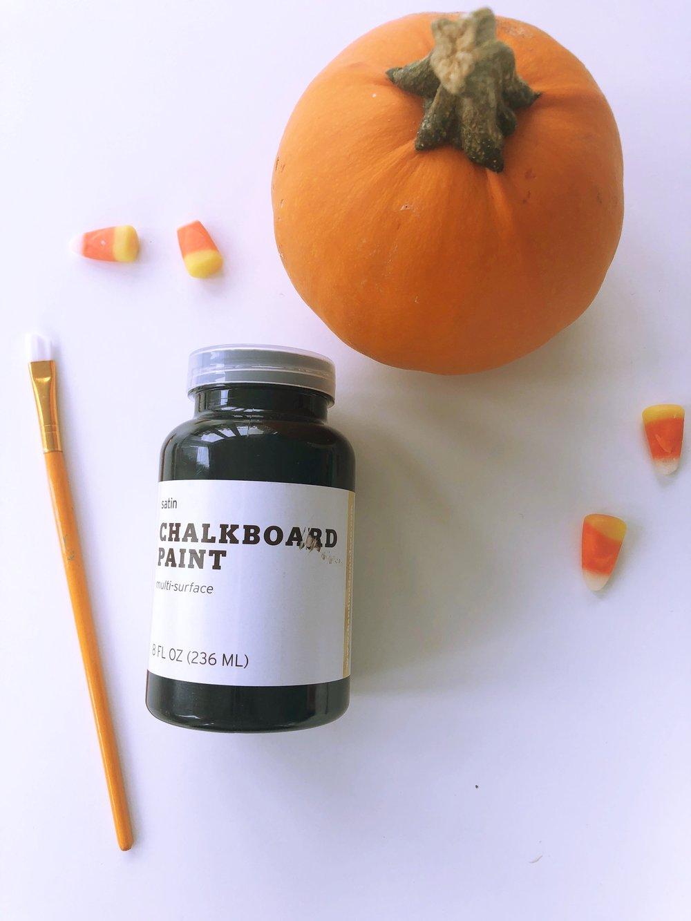 Chalkboard Paint pumpkin.jpg