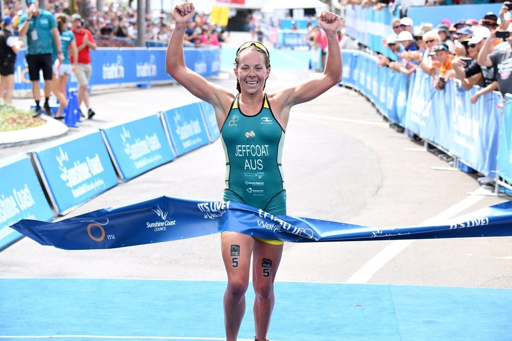 EMMA WINS ITU WORLD CUP