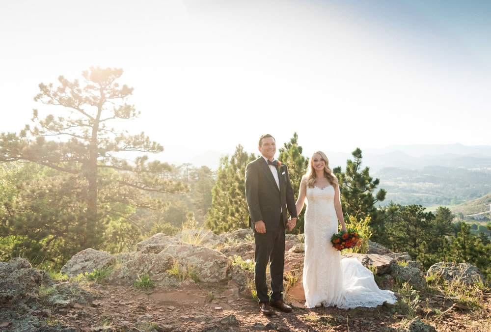 Colorado Mountain Wedding in July