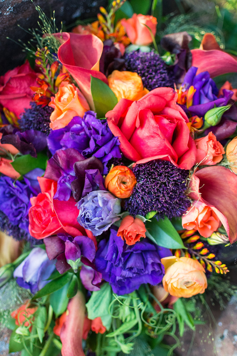 Jewel Tones - Bridal Bouquet