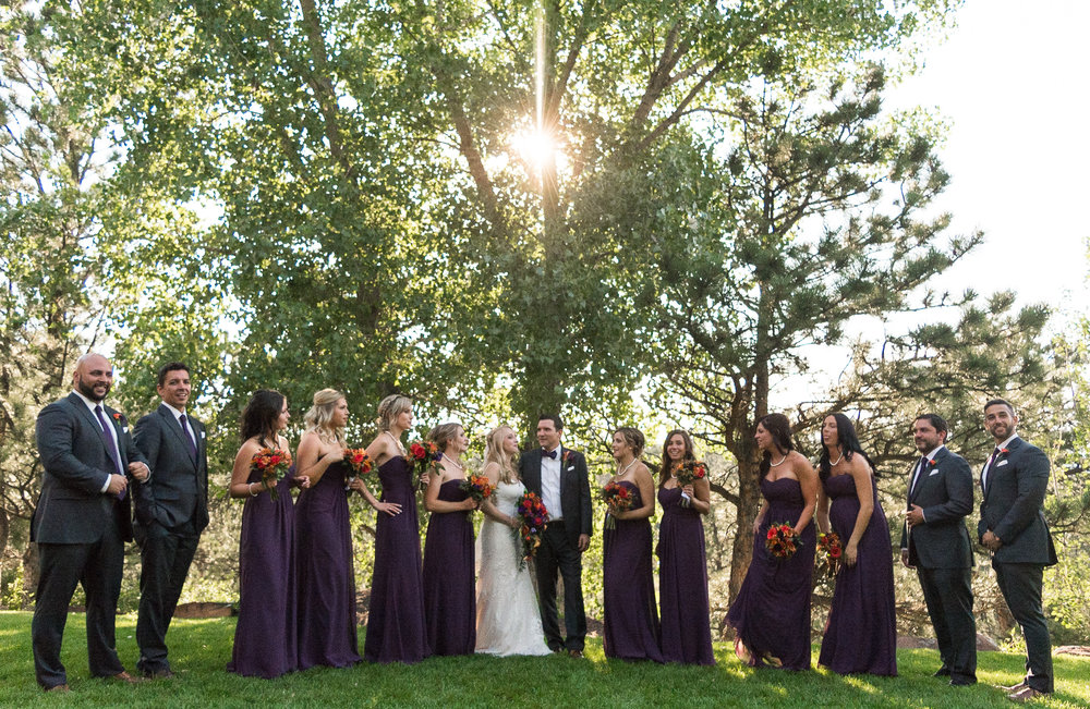July Wedding Party - Lyons, Colorado