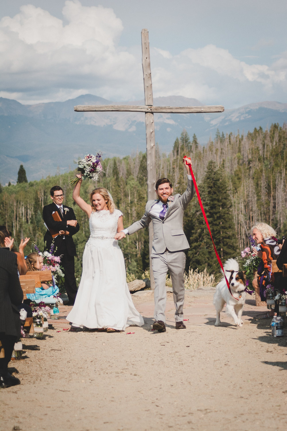 columbine point wedding