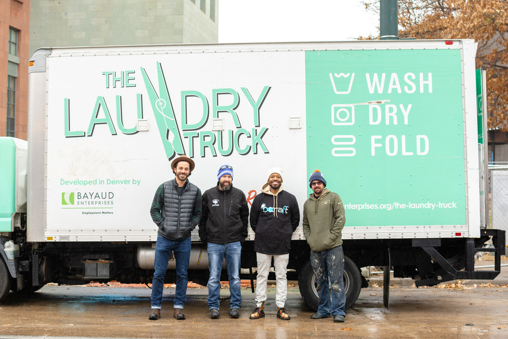 the laundry truck