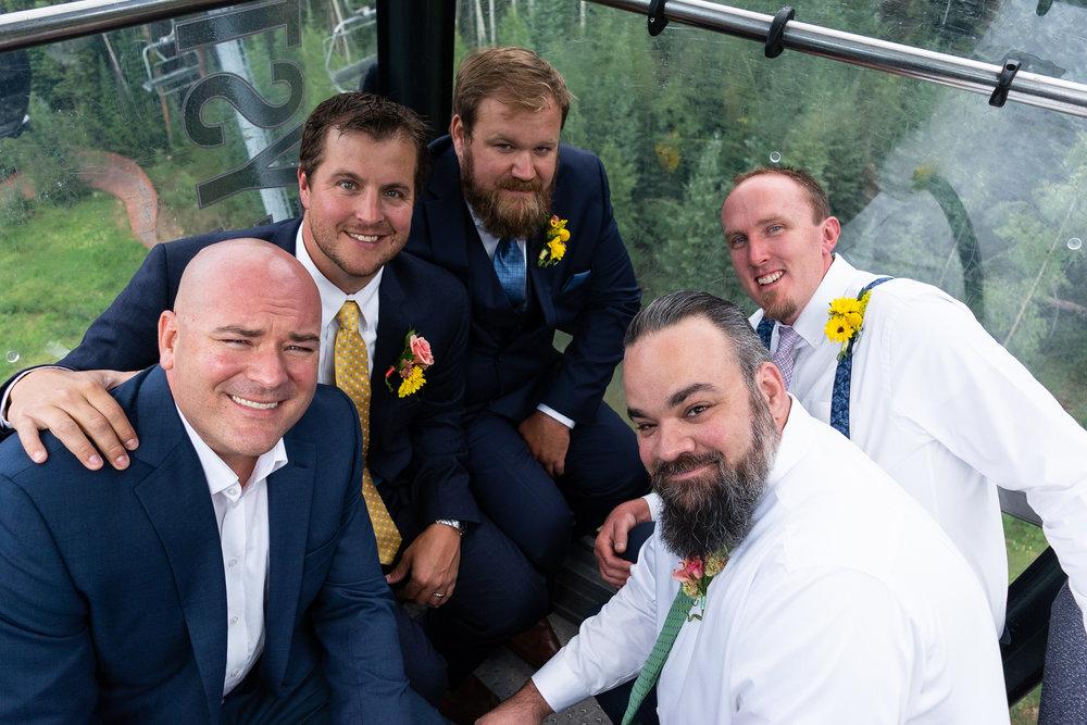 The Groomsmen Gondola