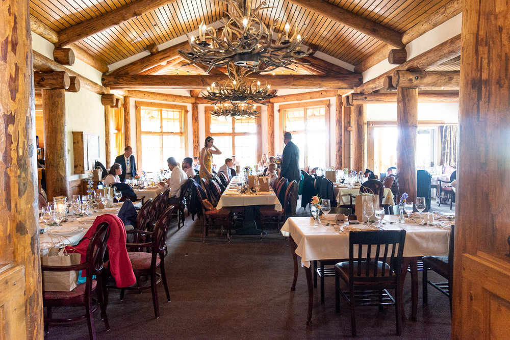 Alpenglow Stube Reception Space