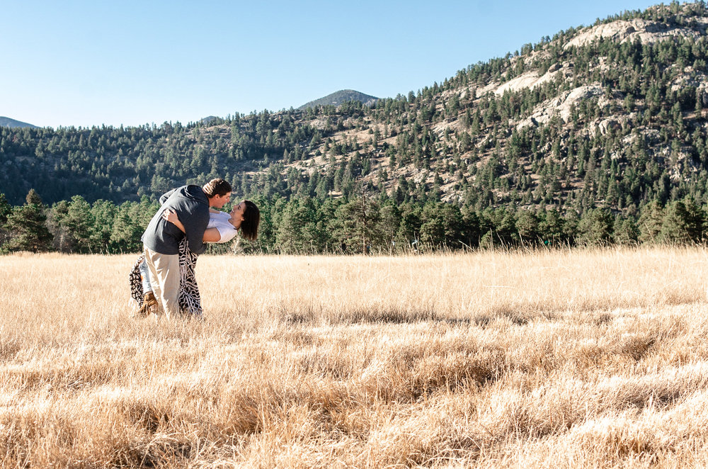 mountain engagement photos