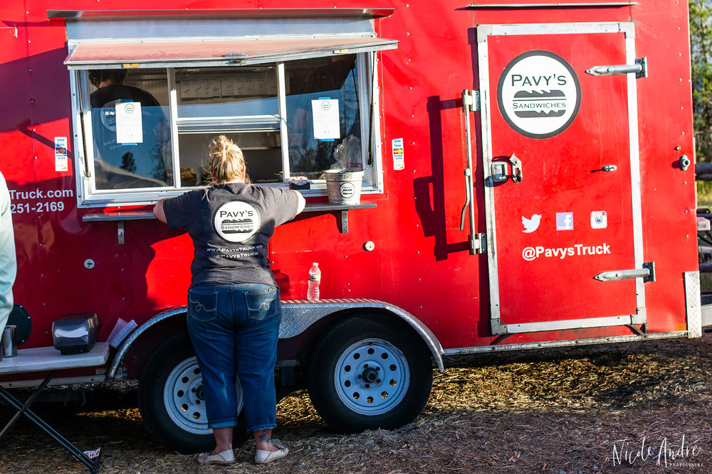 Pavy's food truck