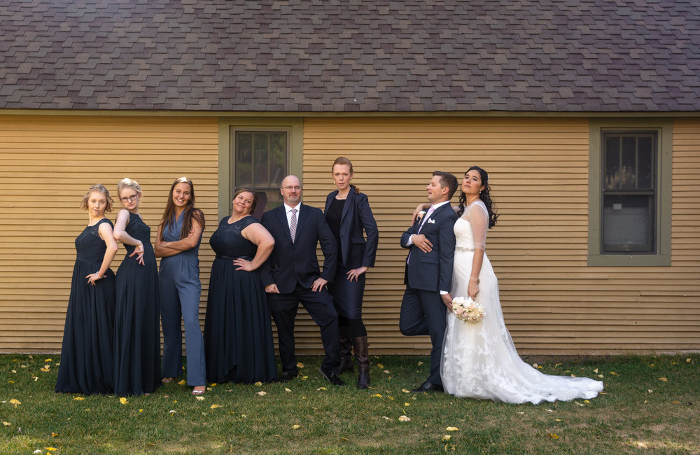 Bridal Party at Manor Vail Lodge