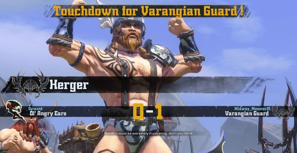 Another strong performance from Varangian Guard's Runner Herger. Is there something in the mead?