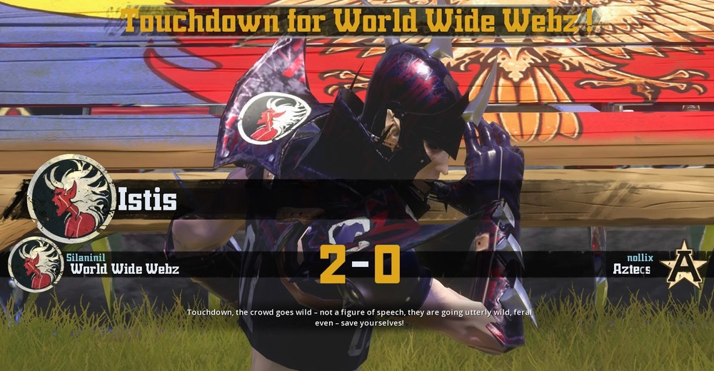 The dark elves may be the ugliest of all the elves but their touchdowns look just as good as any other