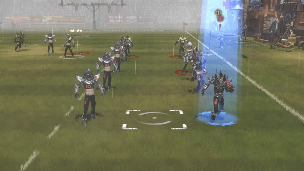 This is either a shot from the match up or a bunch of dark elves auditioning to be back up dancers.