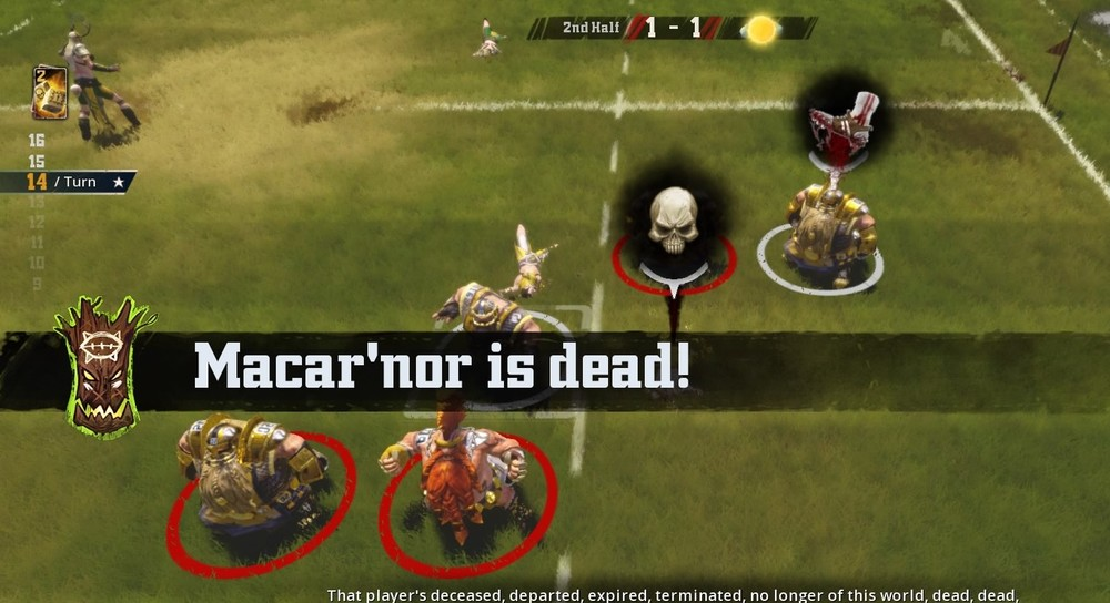 Sticks and Stones Macar'nor dead after a failed apothecary attempt