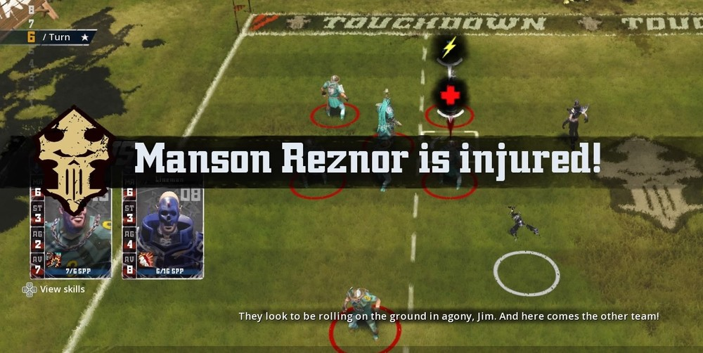 The Peasant Brigade was up to their usual tricks, this time injuring Manson Reznor with a flagrant foul.