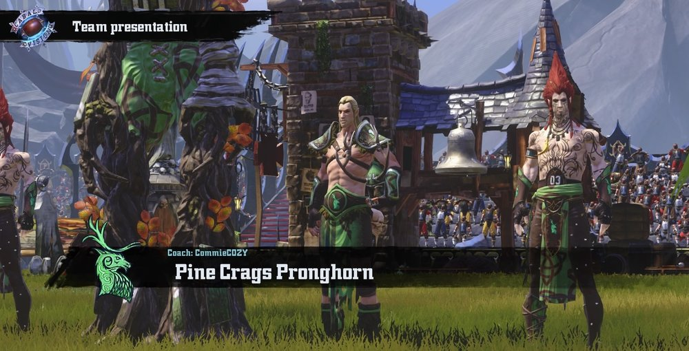 A quick look at Pine Crags Pronghorn before the match up, for a shot of them after check out the bloodiest game of the week!