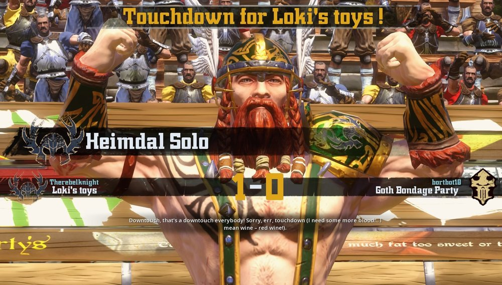 Heimdal Solo continues to impress since his transfer from The Norse Awakens