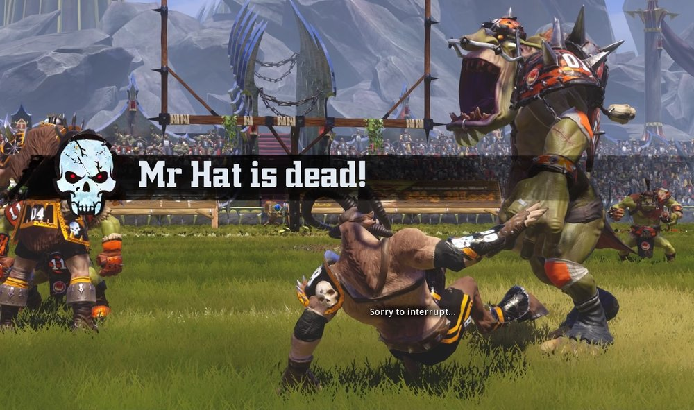 Mr Hat is dead long live Mr Hat