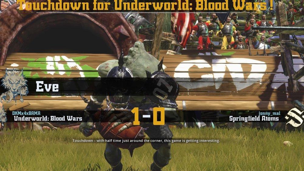 Eve scores a touchdown for Underworld Blood Wars
